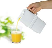 Handtag för mjölk- och juiceförpackningar - kvadratiskt